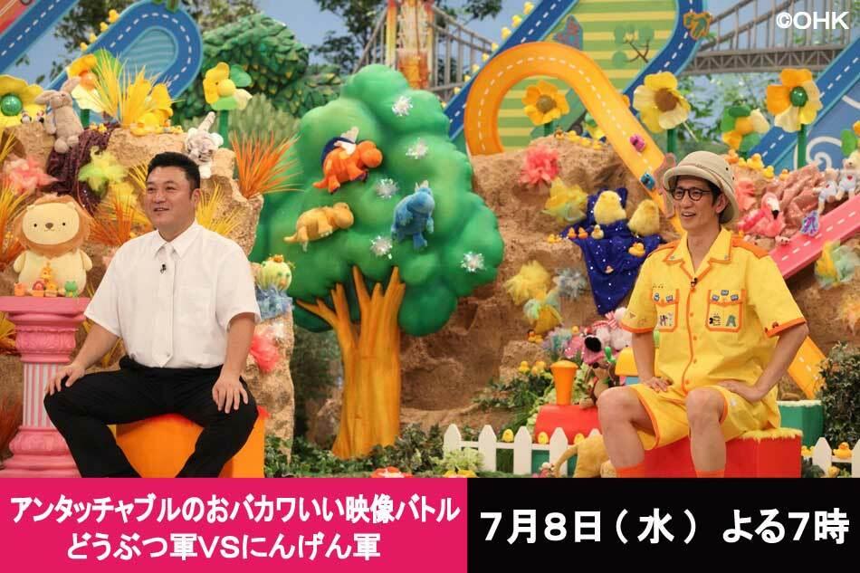 アンタッチャブルのおバカワいい映像バトル動画  2020年7月8日 200708